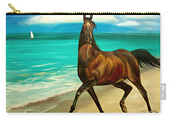 Horses In Paradise  Dance Carry-all Pouch