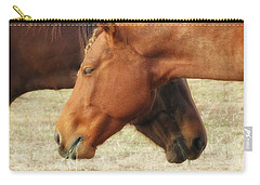 Horses In Sinc Carry-all Pouch