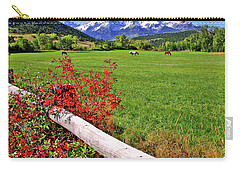 Horses In The San Juans Carry-all Pouch by Scott Mahon