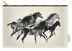 Horses Mug Carry-all Pouch