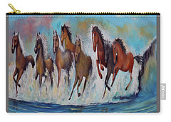 Horses Of Success Carry-all Pouch