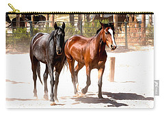 Horses Unlimited_6a Carry-all Pouch