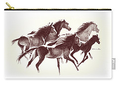 Horses2 Mug Carry-all Pouch