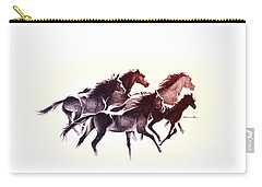 Horses5 Mug Carry-all Pouch