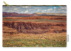 Carry-all Pouch featuring the photograph Horseshoe Bend Arizona #2 by Jennifer Rondinelli Reilly - Fine Art Photography