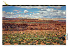 Carry-all Pouch featuring the photograph Horseshoe Bend  - Arizona by Jennifer Rondinelli Reilly - Fine Art Photography