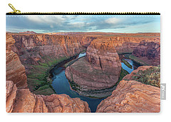 Horseshoe Bend Morning Splendor Carry-all Pouch