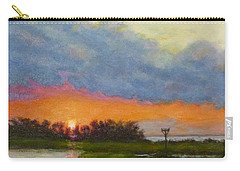 Horseshoe Cove Sunset Carry-all Pouch