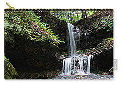 Horseshoe Falls #6736 Carry-all Pouch by Mark J Seefeldt