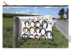 Horseshoes For Sale Carry-all Pouch