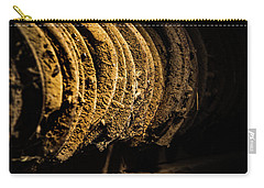 Carry-all Pouch featuring the photograph Horseshoes by Jay Stockhaus
