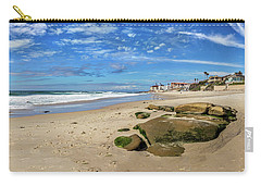 Carry-all Pouch featuring the photograph Horseshoes by Peter Tellone
