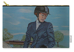 Horseshow Day Carry-all Pouch
