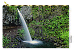 Horsetail Falls Waterfall Art By Kaylyn Franks Carry-all Pouch