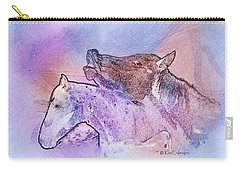 Horsing Around 5 Carry-all Pouch