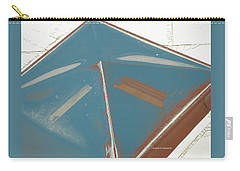 Carry-all Pouch featuring the mixed media Hospital Skylight by Lenore Senior