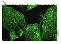 Hostas After The Rain I Carry-all Pouch