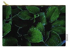 Hostas After The Rain II Carry-all Pouch