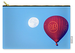 Hot Air Balloon And Moon Carry-all Pouch