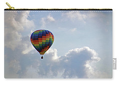 Carry-all Pouch featuring the photograph Hot Air Balloon by Angela Murdock