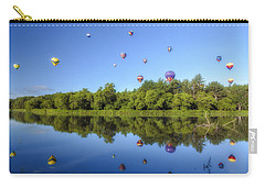 Quechee Balloon Fest Reflections Carry-all Pouch