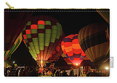 Hot Air Balloons At Night October 28, 2017 #1 Carry-all Pouch