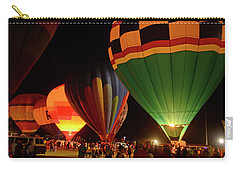 Hot Air Balloons At Night October 28, 2017 #2 Carry-all Pouch