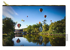 Hot Air Balloons In Queechee 2015 Carry-all Pouch