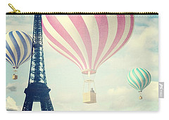 Hot Air Balloons In Paris Carry-all Pouch