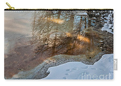 Hot And Cold In Yellowstone Carry-all Pouch by Sue Smith