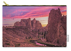 Carry-all Pouch featuring the photograph Hot August Night  by Patricia Davidson