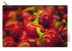 Hot Cherry Peppers Carry-all Pouch