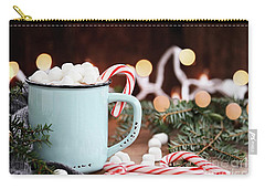 Hot Cocoa With Marshmallows And Candy Canes Carry-all Pouch