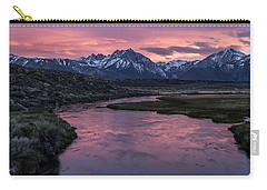 Hot Creek Sunset Carry-all Pouch