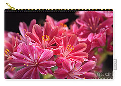 Hot Glowing Pink Delight Of Flowers Carry-all Pouch