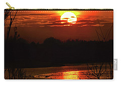 Carry-all Pouch featuring the photograph Hot Hot Hot by Laura Ragland