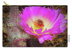 Hot In Pink Carry-all Pouch