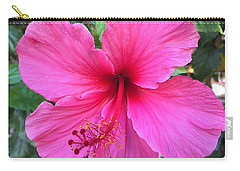 Hot Pink Hibiscus  Carry-all Pouch