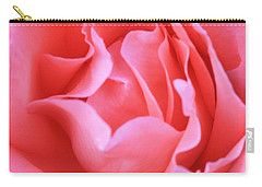 Hot Pink Petals Carry-all Pouch