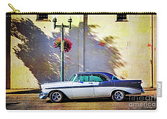 Carry-all Pouch featuring the photograph Hot Rod Bel-air by Craig J Satterlee