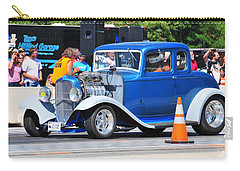 Hot Rod Dragster Carry-all Pouch by Mike Martin