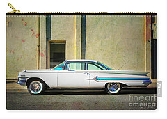 Carry-all Pouch featuring the photograph Hot Rod Impala by Craig J Satterlee
