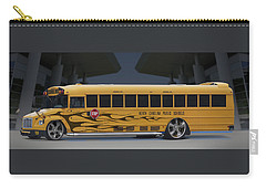 Hot Rod School Bus Carry-all Pouch