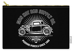 Hot Rod Shop Shirt Carry-all Pouch