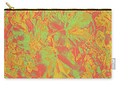Carry-all Pouch featuring the photograph Hot Shot Garden by Nareeta Martin