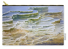 Carry-all Pouch featuring the photograph Hot Springs Runoff by Gary Lengyel