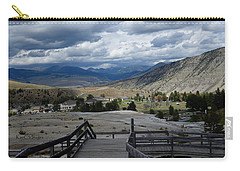 Hot Springs Valley Carry-all Pouch by Kae Cheatham