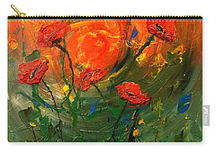 Hot Summer Poppies Carry-all Pouch