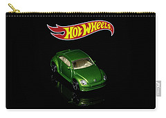 Carry-all Pouch featuring the photograph Hot Wheels 2012 Volkswagen Beetle by James Sage