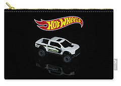 Carry-all Pouch featuring the photograph Hot Wheels Ford F-150 Raptor by James Sage